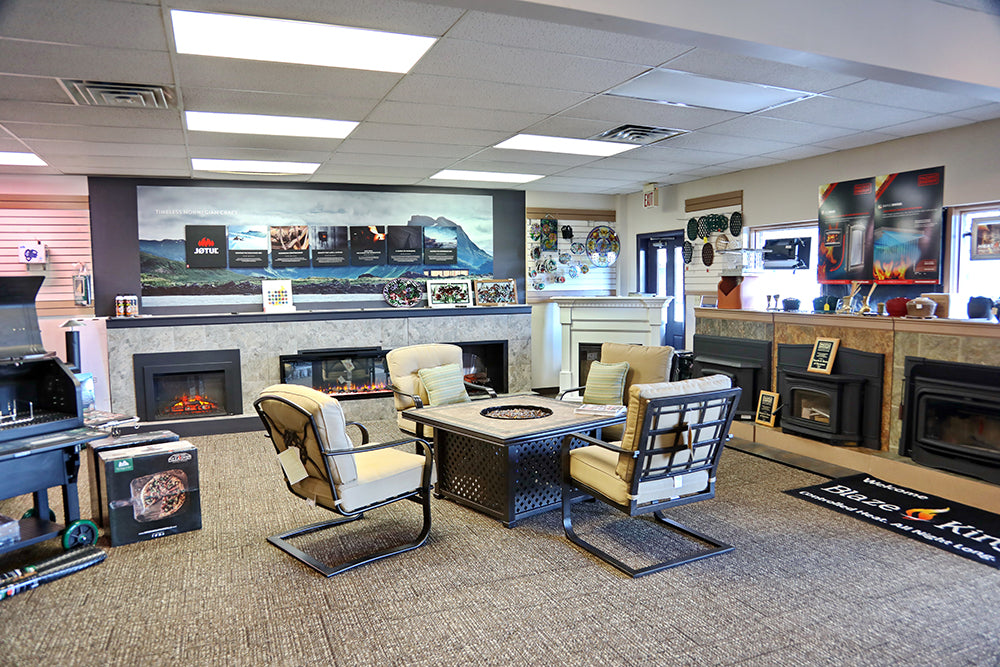 Sitting Area of Hearth Shop