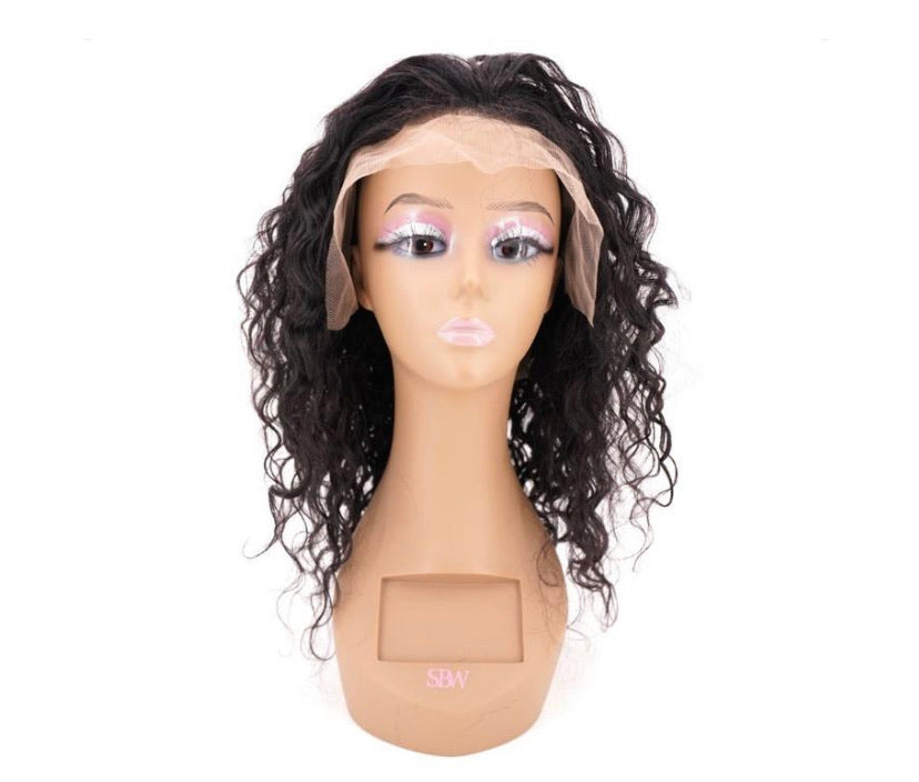 Messy Curl Lace Front Wig