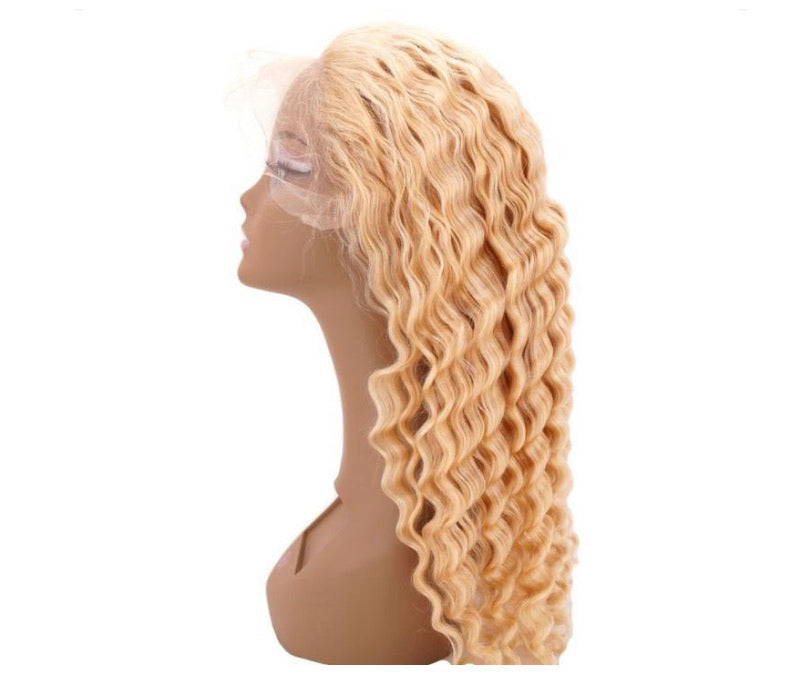 Blonde Deep Wave Lace Front Wig