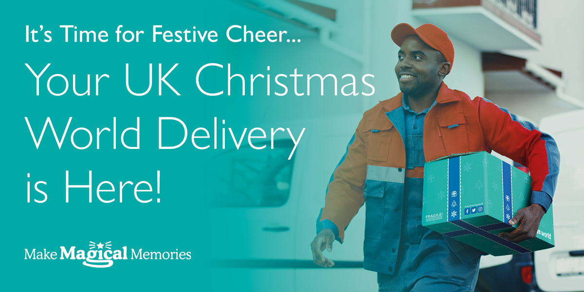 It's Time for Festive Cheer... Your UK Christmas World Delivery is Here!
