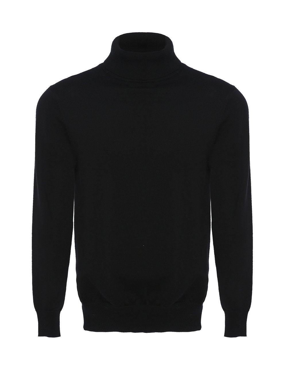 MARK FAST Men Wool Turtleneck Long Sleeve Slim Fit Sweater