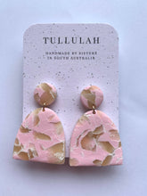 Load image into Gallery viewer, Pink Stone Jumbo Dangle