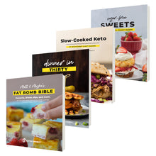 Load image into Gallery viewer, Keto E-Book Bundle