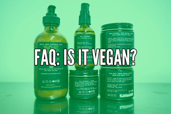FAQ: Vegan since 2016ish