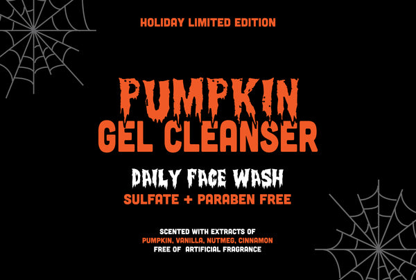 New Release: Limited Edition Pumpkin Gel Cleanser