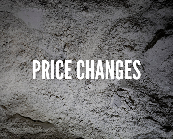 Price Changes Soon