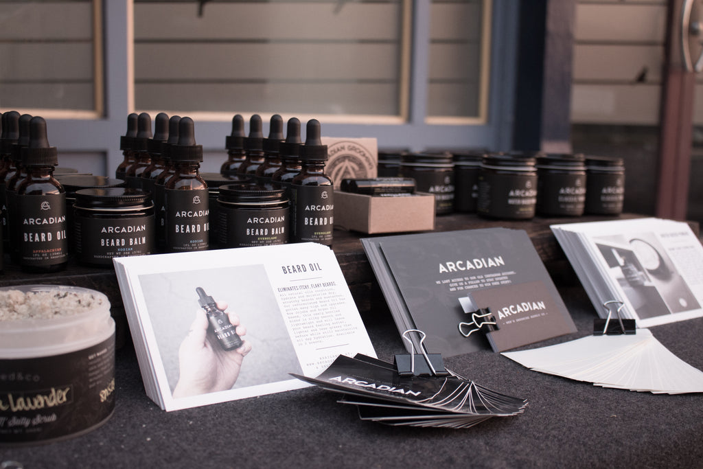 arcadian grooming event table