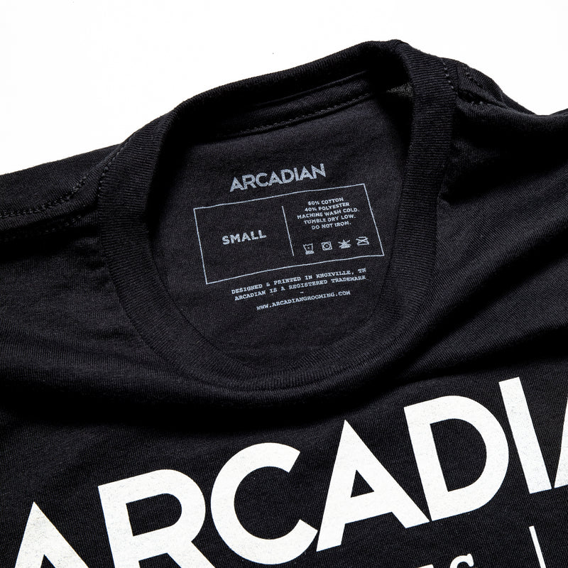 American MFG Tee - Arcadian Grooming: Pomade, Beard Care, Men's Grooming Supplies