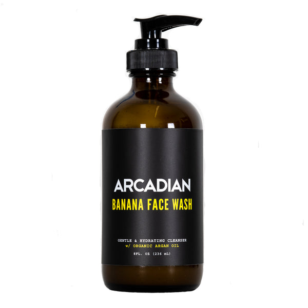 Banana Face Wash - Arcadian Grooming: Pomade, Beard Care, Men's Grooming Supplies