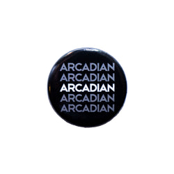 "1.25"" Round Button - Arcadian Grooming: Pomade, Beard Care, Men's Grooming Supplies"