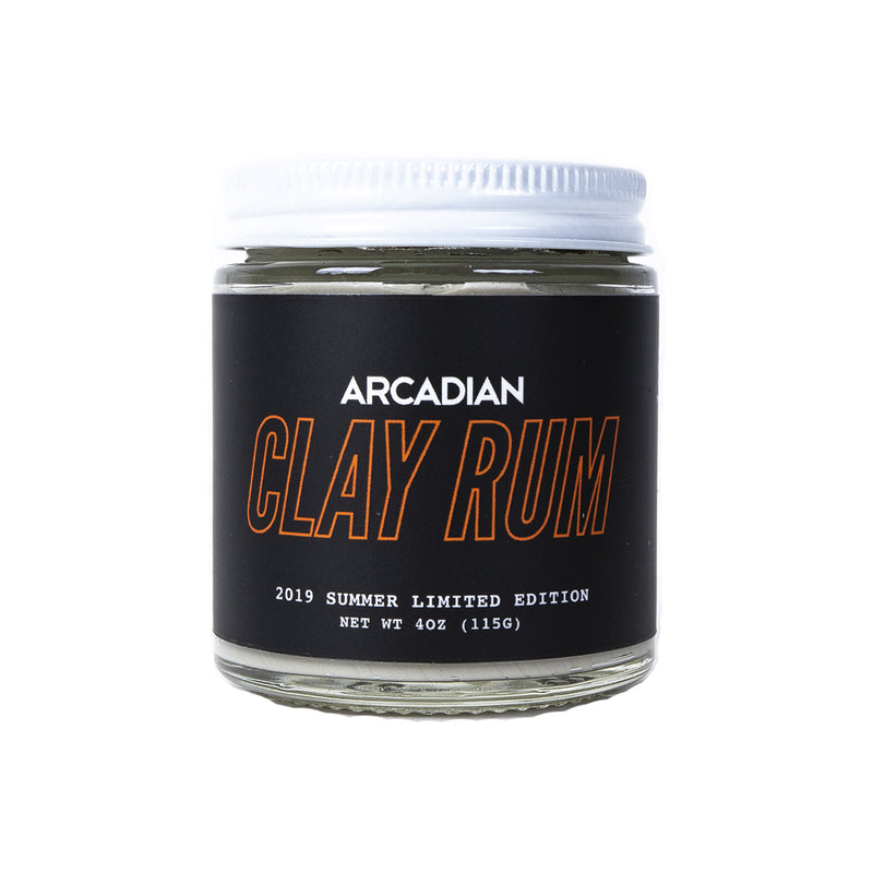 Clay Rum (Limited) - Arcadian Grooming: Pomade, Beard Care, Men's Grooming Supplies