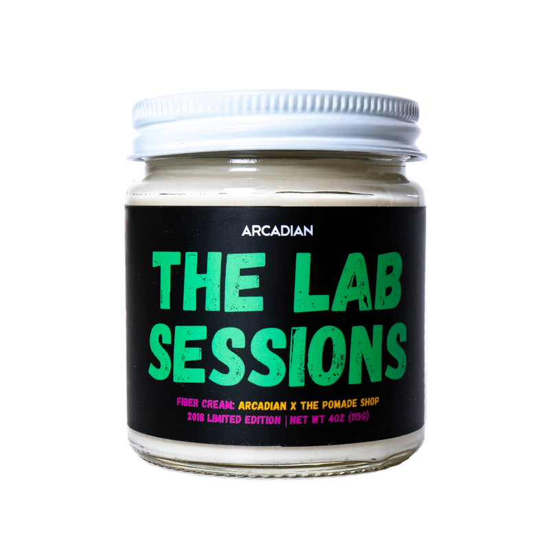 The Lab Sessions 001 - Fiber Cream | The Pomade Shop AU x Arcadian (Limited) - Arcadian Grooming: Pomade, Beard Care, Men's Grooming Supplies