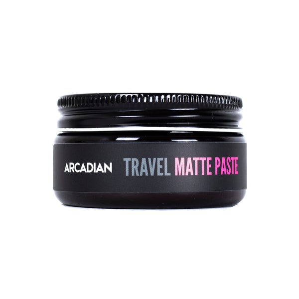 Travel Matte Paste - Arcadian Grooming: Pomade, Beard Care, Men's Grooming Supplies