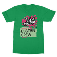 Dustbin Crew Design Unisex Softstyle T-Shirt