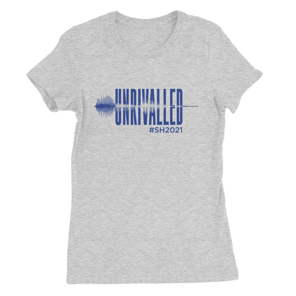 Unrivalled SH 2021 Blue Design Women's Favourite T-Shirt