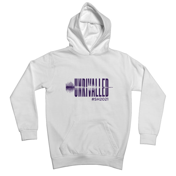 Unrivalled SH 2021 Purple Design Kids Hoodie