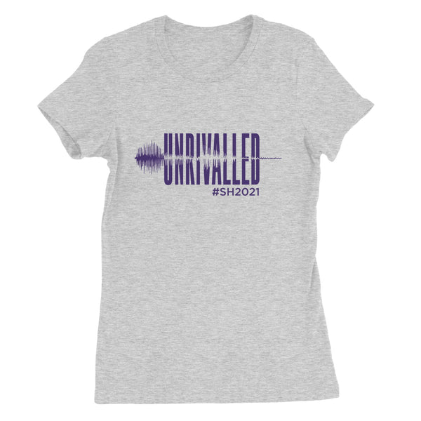 Unrivalled SH 2021 Purple Design Women's Favourite T-Shirt