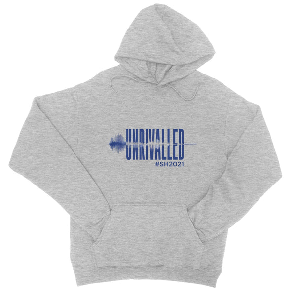 Unrivalled SH 2021 Blue Design Unisex College Hoodie