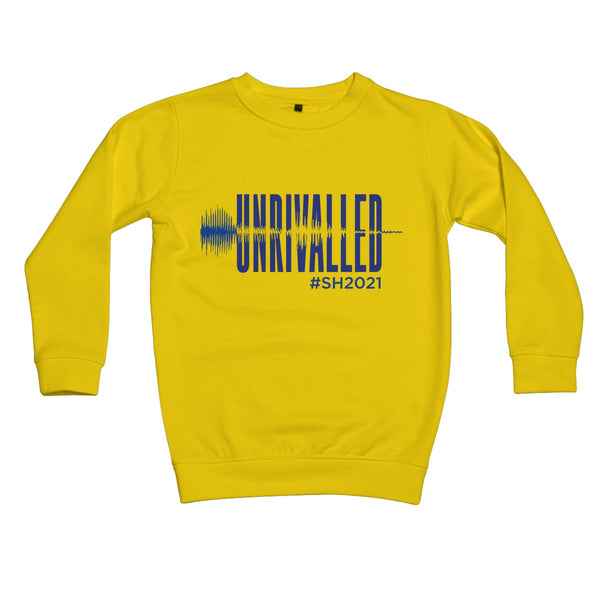 Unrivalled SH 2021 Blue Design Kids Sweatshirt