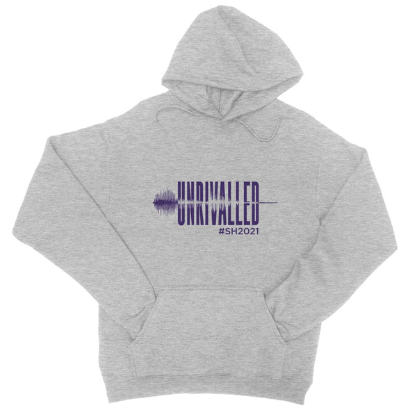Unrivalled SH 2021 Purple Design Unisex College Hoodie