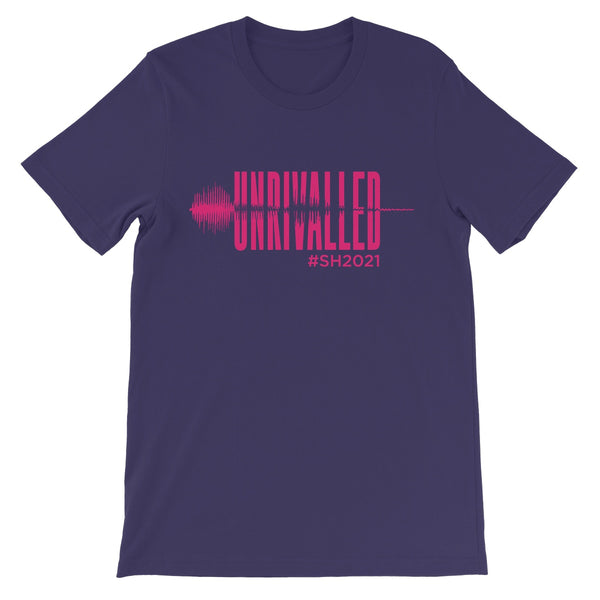 Unrivalled SH 2021 Pink Design Unisex Short Sleeve T-Shirt