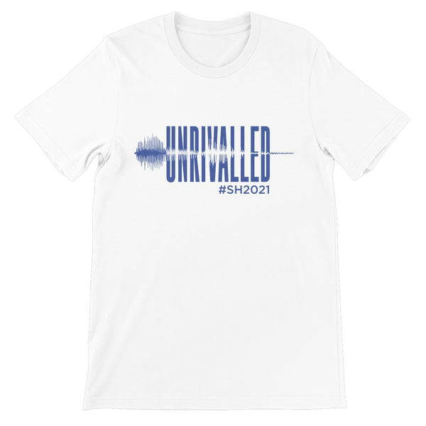 Unrivalled SH 2021 Blue Design Unisex Short Sleeve T-Shirt