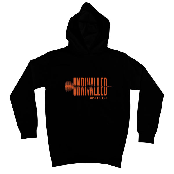 Unrivalled SH 2021 Orange Design Kids Hoodie