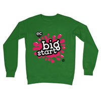 Big Start Colour Design Unisex Crew Neck Sweatshirt