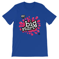Big Start Colour Design Unisex Short Sleeve T-Shirt