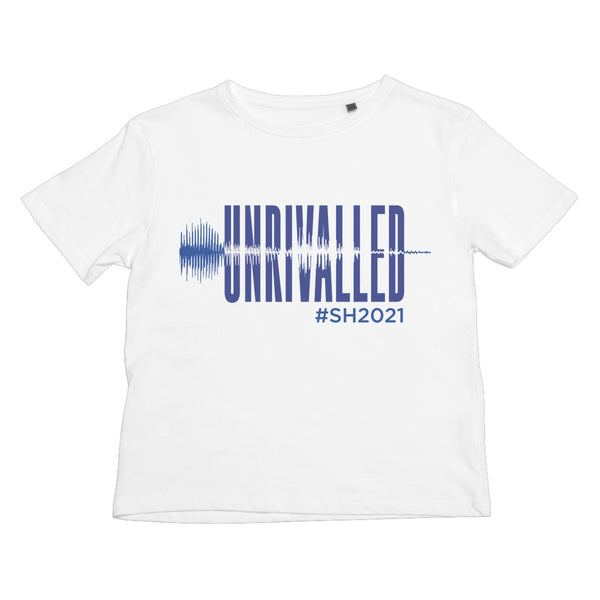 Unrivalled SH 2021 Blue Design Kids T-Shirt