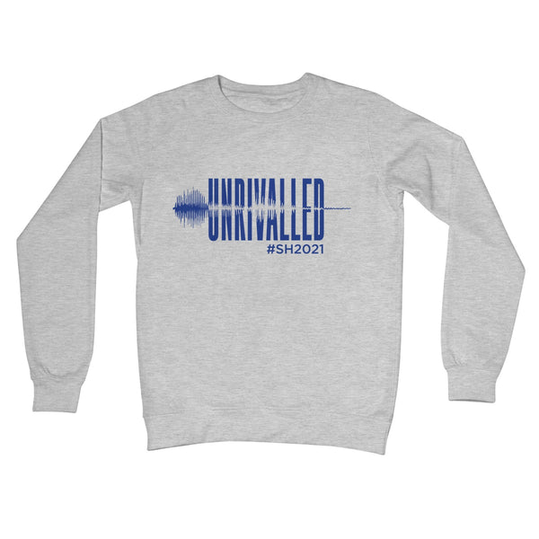 Unrivalled SH 2021 Blue Design Unisex Crew Neck Sweatshirt