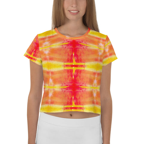 Fire Element Women's Crop Top/ T-Shirt