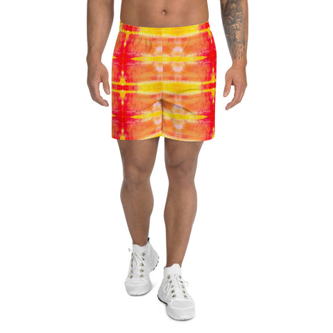 Fire Element Men's Athletic Long Shorts