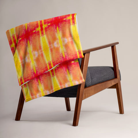 Fire Element Throw Blanket