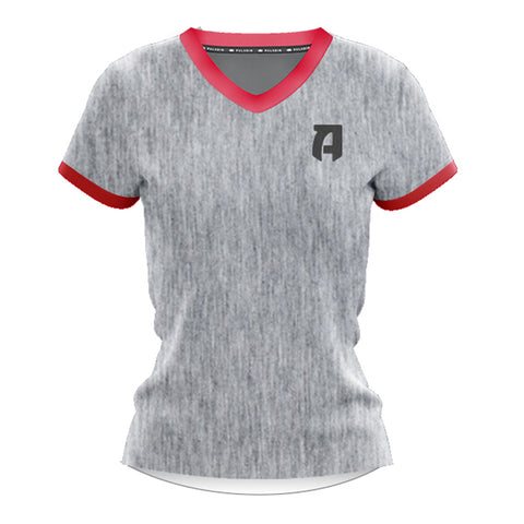 Rugby ATL Women's Cotton T-shirt- Grey
