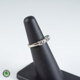 14K White Gold Diamond Ring - 1.00 CTTW