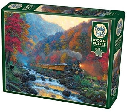Table Top Cafe Puzzle: 1000 Smoky Train