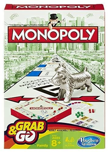 Table Top Cafe Monopoly: Grab and Go