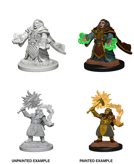 Table Top Cafe D&D Nolzurs Marvelous Unpainted Miniatures: Wave 4: Dwarf Female Cleric