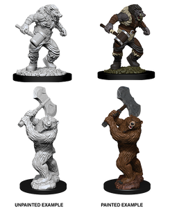 Table Top Cafe D&D Nolzurs Marvelous Unpainted Miniatures: Wave 9: Wereboar & Werebear