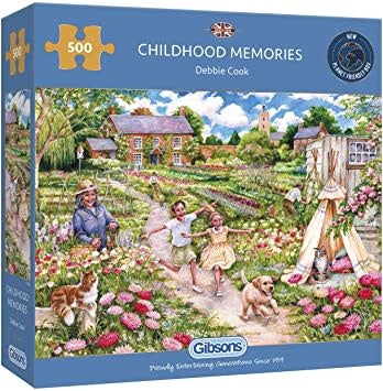 Table Top Cafe Puzzle: 500 Childhood Memories