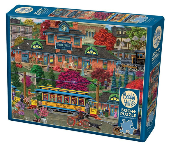 Table Top Cafe Puzzle: 500 Trolley Station