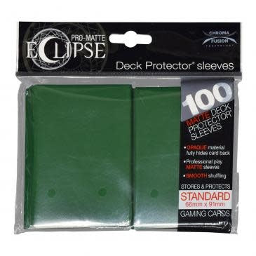 Table Top Cafe Ultra Pro Eclipse Card Sleeves Green