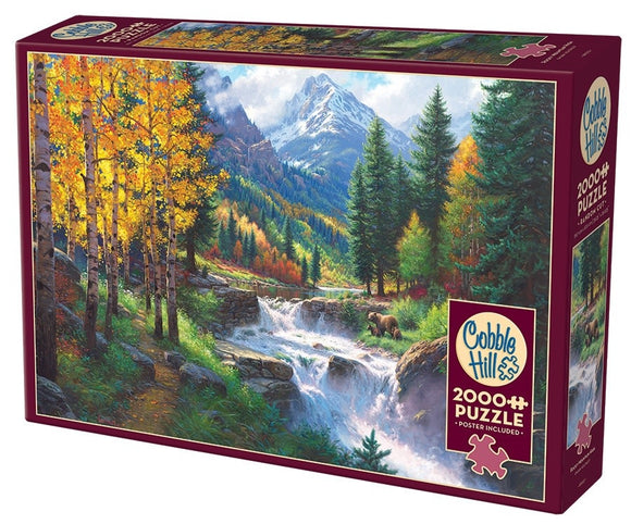 Table Top Cafe Puzzle: 2000 Rocky Mountain High