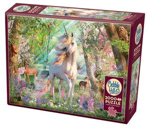 Table Top Cafe Puzzle: 2000 Unicorn and Friends