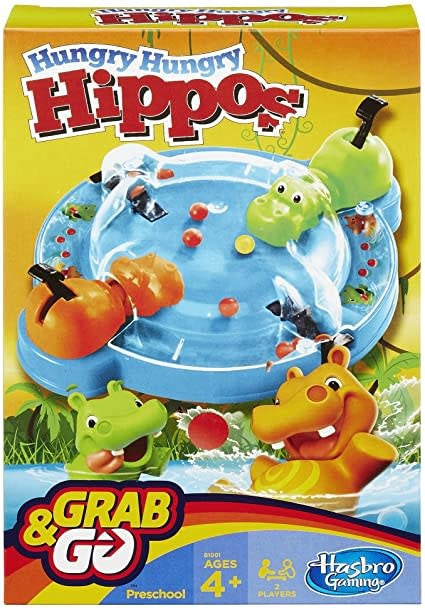 Table Top Cafe Hungry Hungry Hippos: Grab and Go