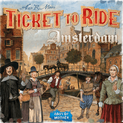 Table Top Cafe Ticket to Ride Express - Amsterdam