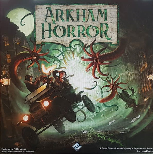 Table Top Cafe Arkham Horror Third Edition