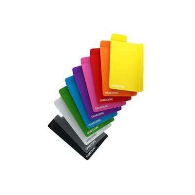Table Top Cafe Card Dividers Multicolor