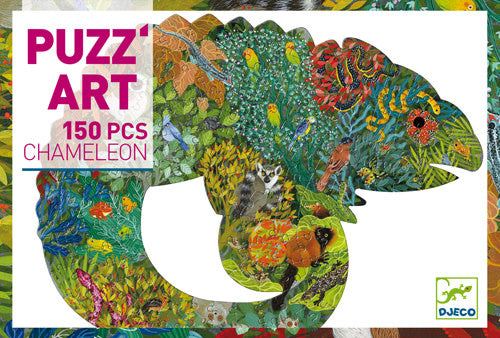Table Top Cafe Puzz'art Puzzle: 150 Chameleon